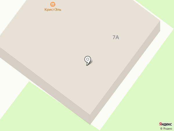Семерочка на карте Смоленска