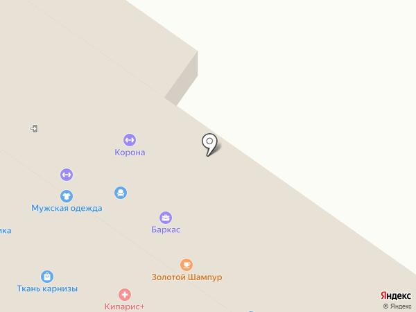 Джем на карте Смоленска