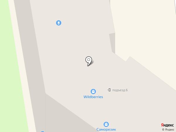 Олимп на карте Смоленска
