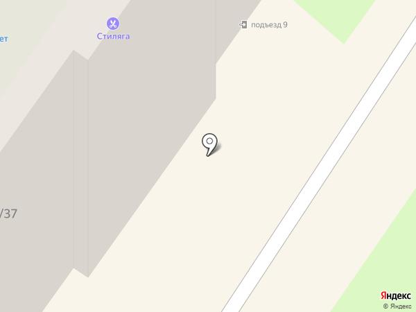Ладушка на карте Смоленска