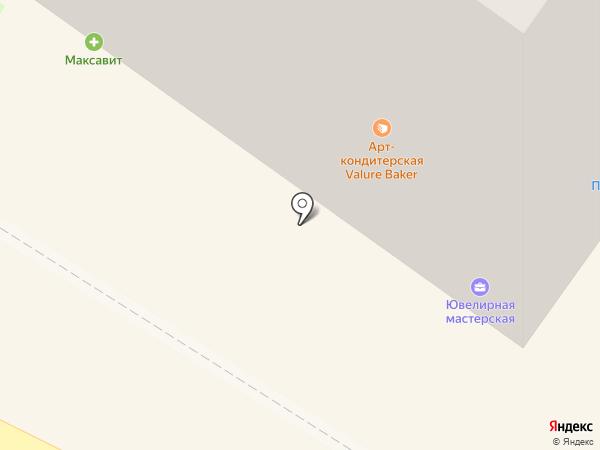 Стиляга на карте Смоленска