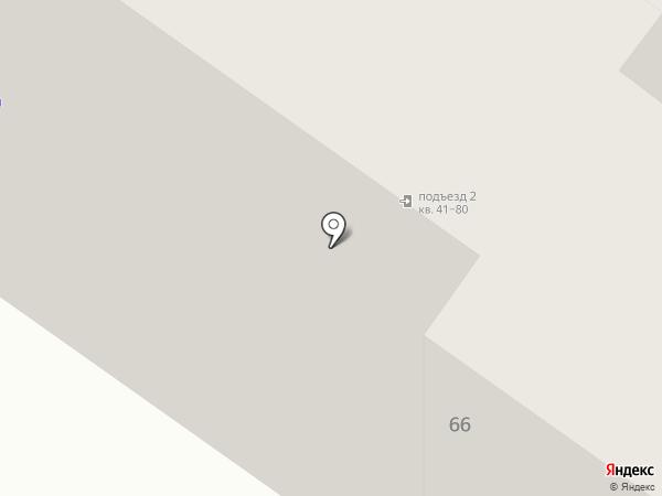 Модный Подъезд на карте Смоленска