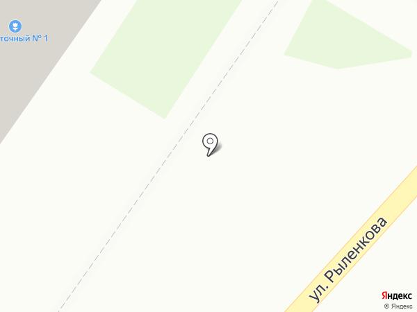 ТОНУС-КЛУБ на карте Смоленска