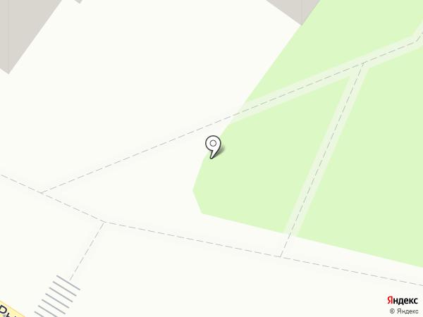 Амулет на карте Смоленска