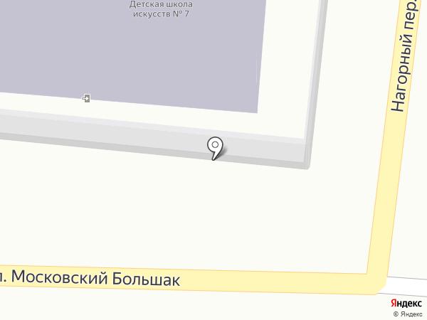 Детская школа искусств №7 на карте Смоленска