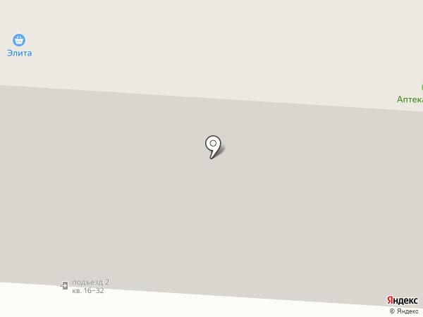 Городская поликлиника №7 на карте Мурманска