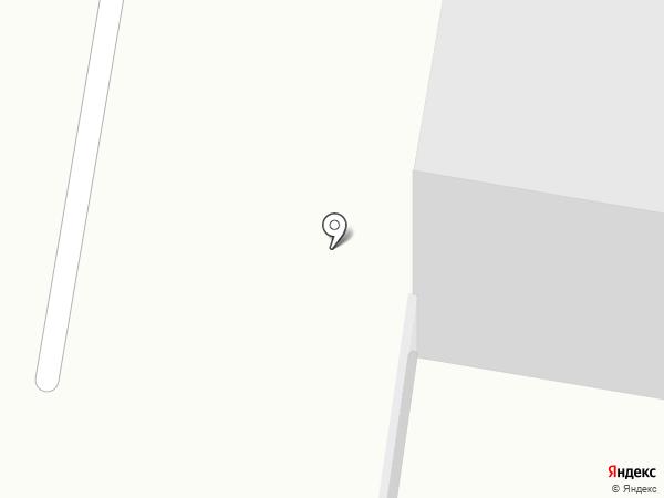 Наяда на карте Мурманска