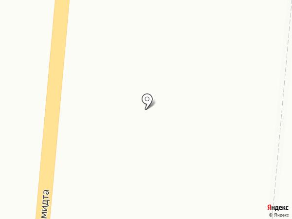 Глория на карте Мурманска