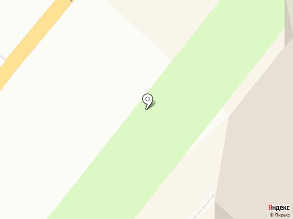 Аист на карте Мурманска