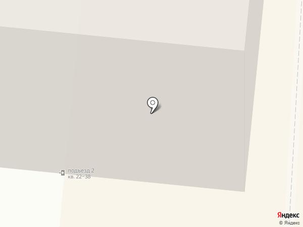 Магазин швейных изделий на карте Мурманска