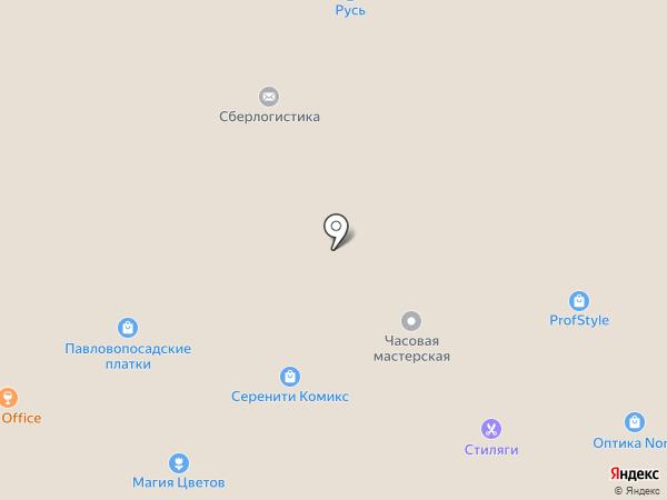 Мадам Вуаля на карте Мурманска