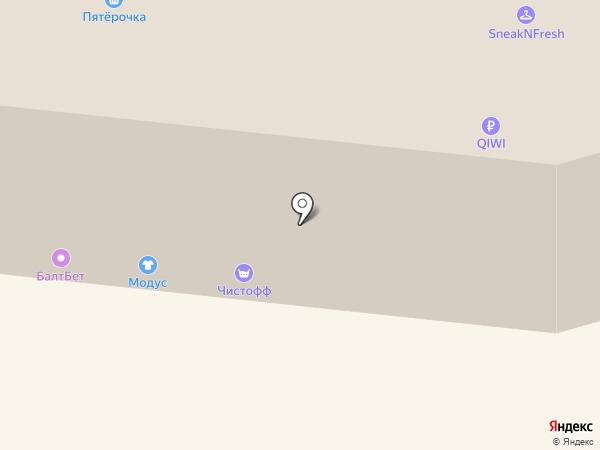 Добрёнок на карте Мурманска