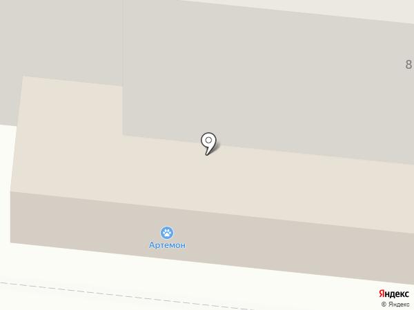 Ателье на Театральном бульваре на карте Мурманска