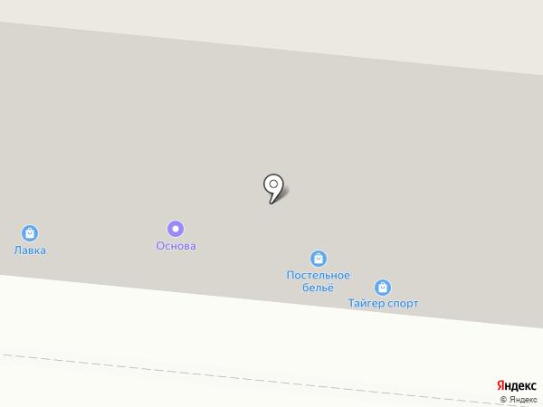 Дзержинский на карте Мурманска