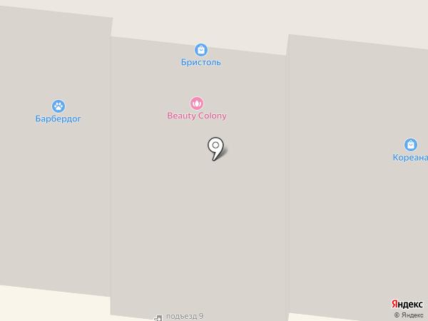 Скульптор Тела на карте Мурманска