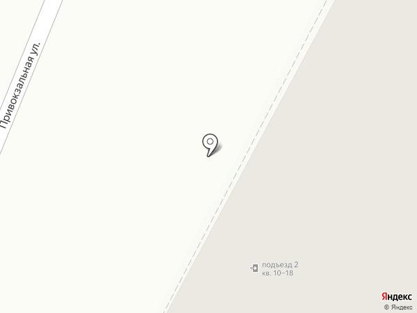 Шельф на карте Мурманска