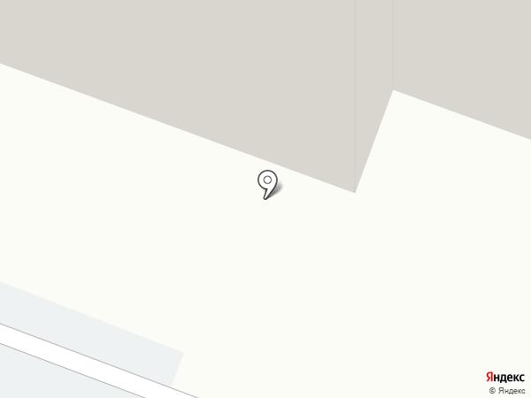Участковый пункт полиции №5 на карте Мурманска