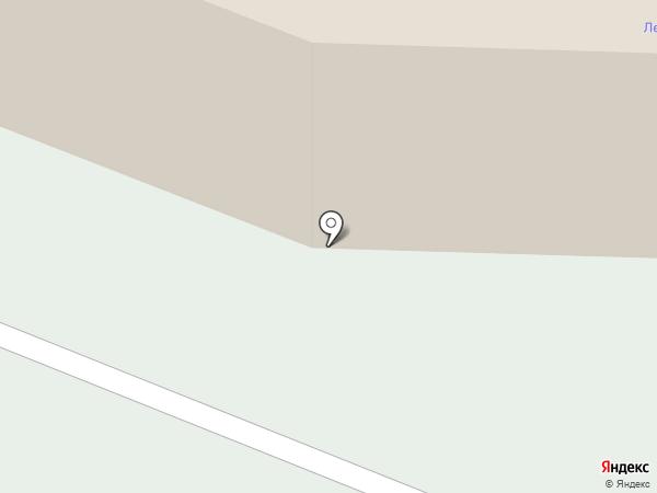 Ледовый дворец на карте Мурманска