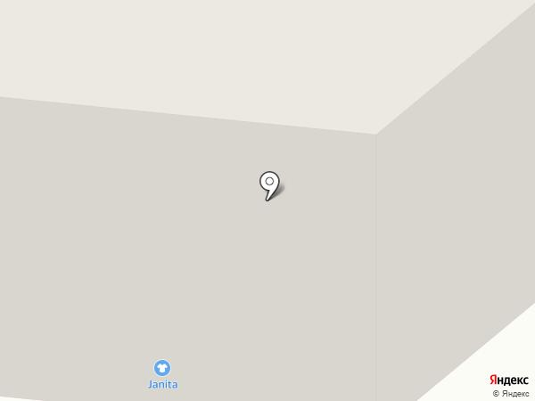 Флайс на карте Мурманска