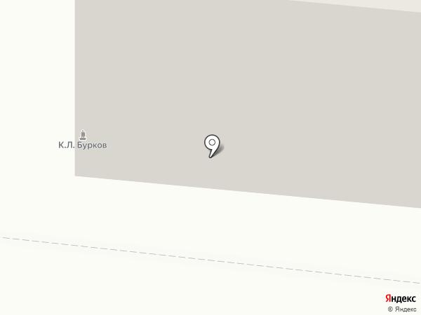 Пуговка на карте Мурманска