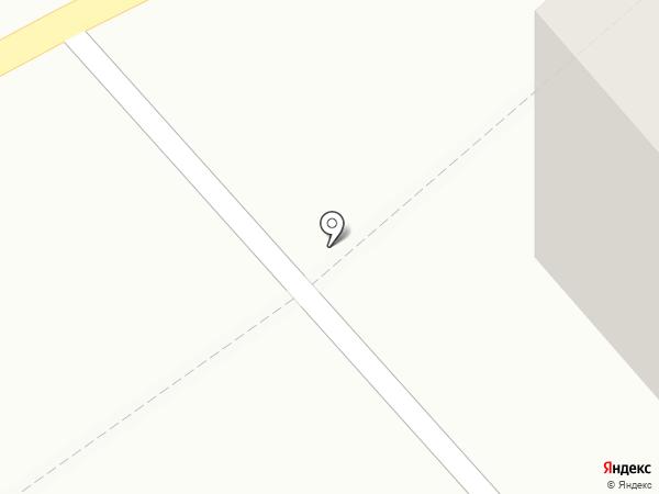 Аллея на карте Мурманска