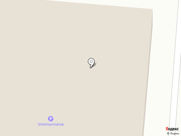 Утро на карте Мурманска