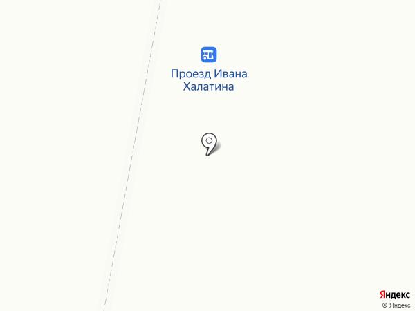 Полянка на карте Мурманска