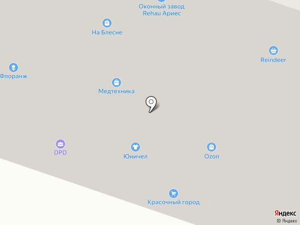 DPD на карте Мурманска