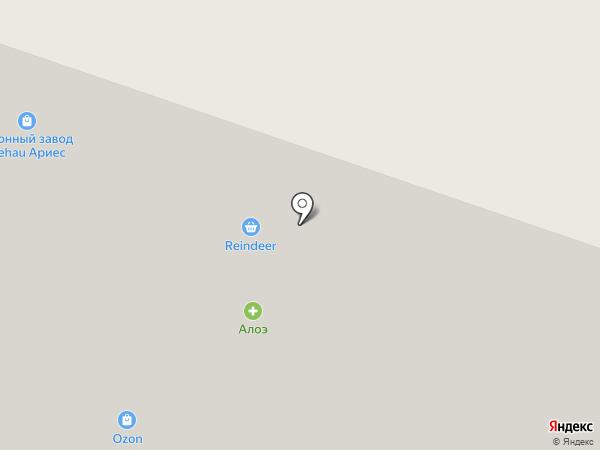 Суши-Сити на карте Мурманска
