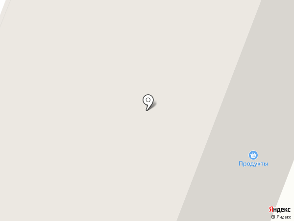 Расческа на карте Мурманска