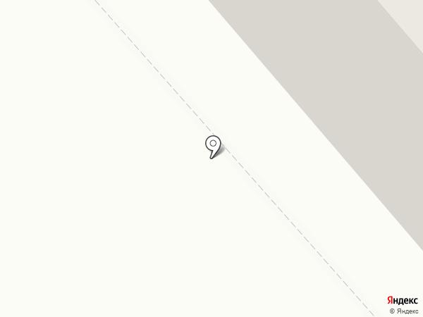 Канителька на карте Мурманска
