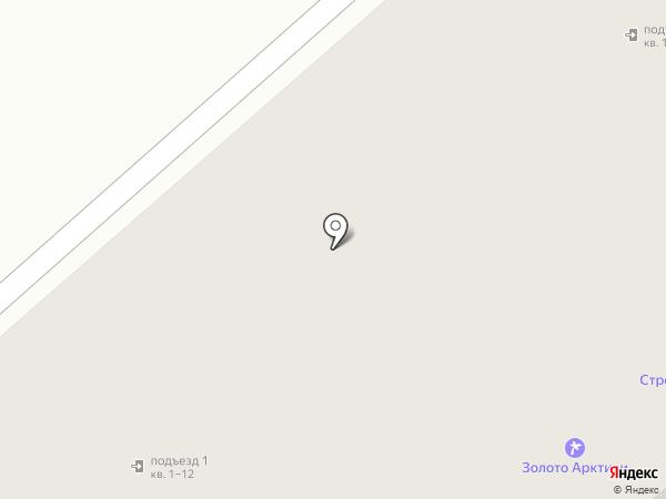 Нордбух на карте Мурманска