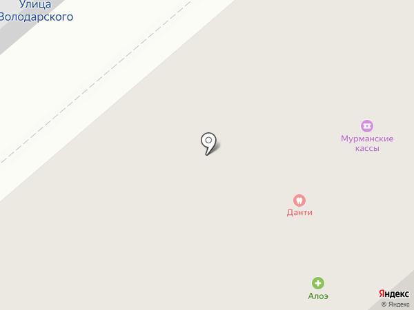 Ч9 на карте Мурманска