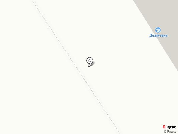 Дежневка на карте Мурманска