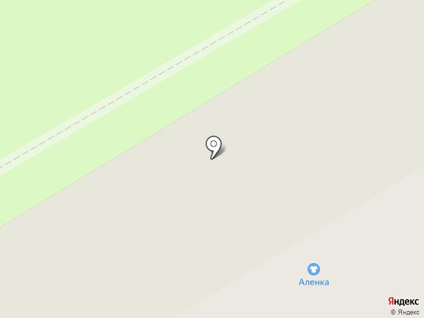 Алёнка на карте Мурманска