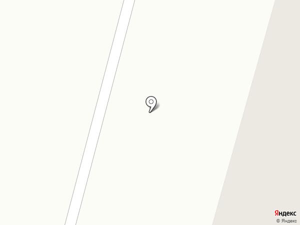 Полярная сова на карте Мурманска