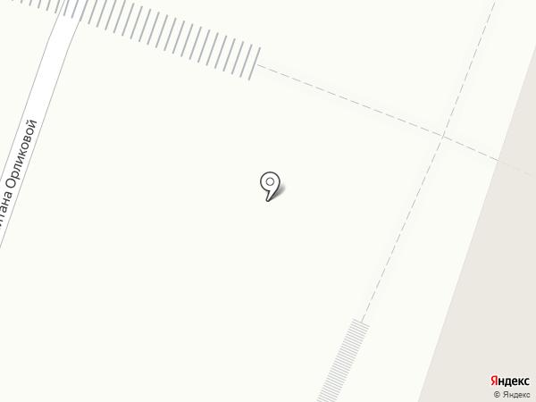 Дети на паркете на карте Мурманска