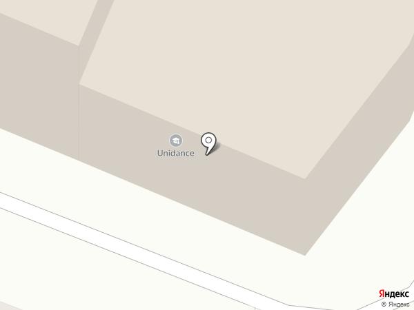 Школа спорта на пилоне на карте Мурманска