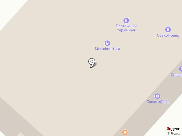 МегаФон на карте Мурманска