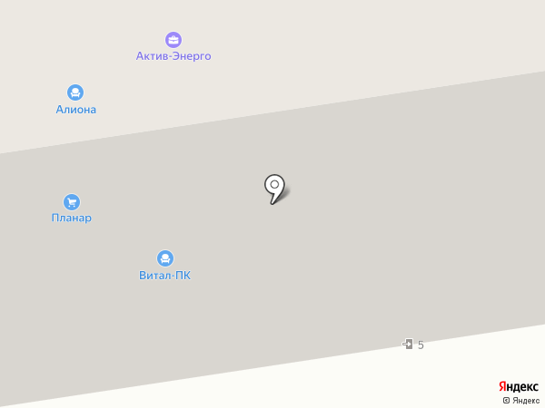 ВЕКТОР на карте Мурманска