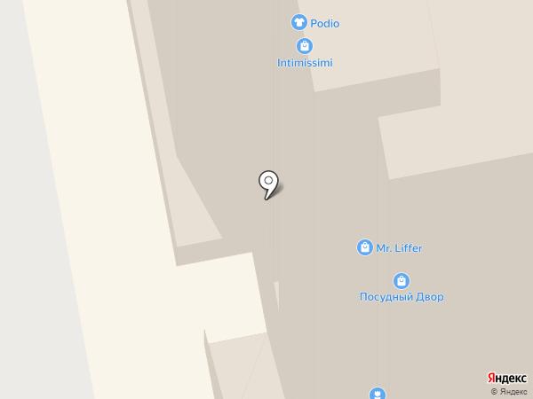 McDonald`s на карте Мурманска