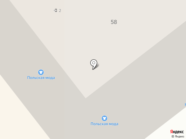 Тандем на карте Мурманска