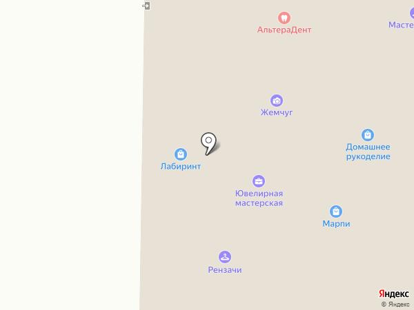 Рензачи на карте Мурманска