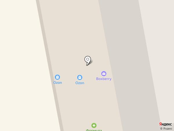 Сан на карте Мурманска