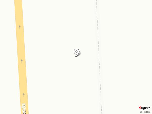 Матроскин на карте Мурманска