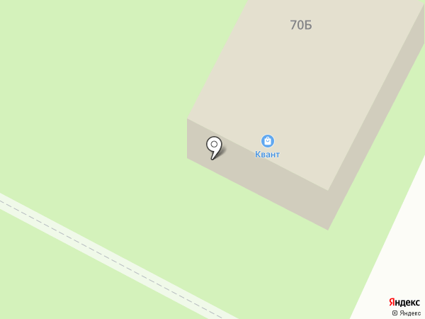Квант на карте Мурманска