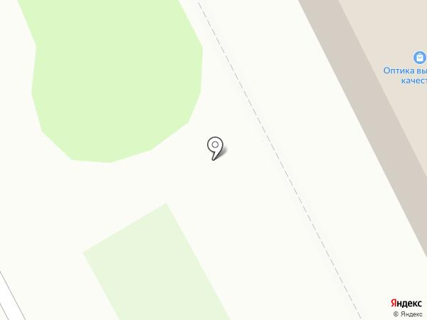 Оптика на карте Мурманска