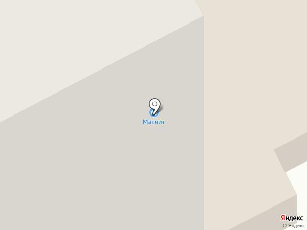 Магнит на карте Мурманска