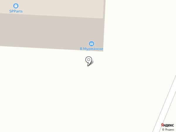 Мастер-шин на карте Мурманска