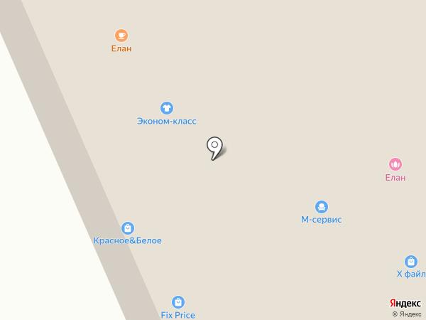 Магазин парикмахерских и маникюрных принадлежностей на карте Мурманска